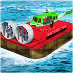 Amazing Hover craft Racing 3D Icon