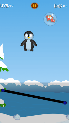 android Bouncy Penguin Screenshot 3