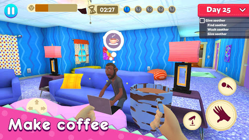 Mother Simulator: Family Life apkpoly screenshots 3