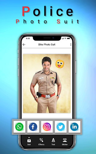Police Photo Suit : Women & Men Police Pic Editor 1.2 screenshots 5