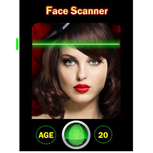 Face Scanner Age Detector Prank App