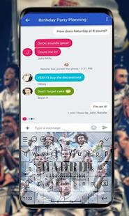 Real Madrid Keyboard - náhled