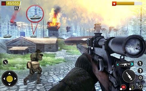American World War Fps Shooter Mod Apk 6.0 (Unlimited Money) 4