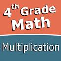 Fourth grade Math - Multiplication icon