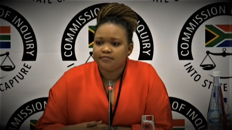 Ace Magashule's former personal assistant, Moroadi Cholota, appeared before the Zondo commission of inquiry into state capture on December 6 2019, to testify about her alleged involvement in the R255m Free State asbestos scandal