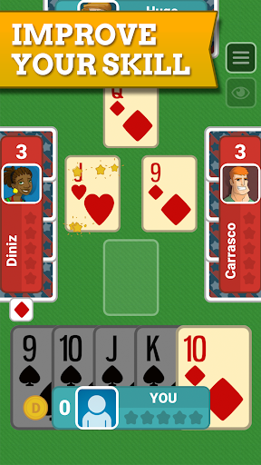 Euchre Free: Classic Card Games For Addict Players apkpoly screenshots 3