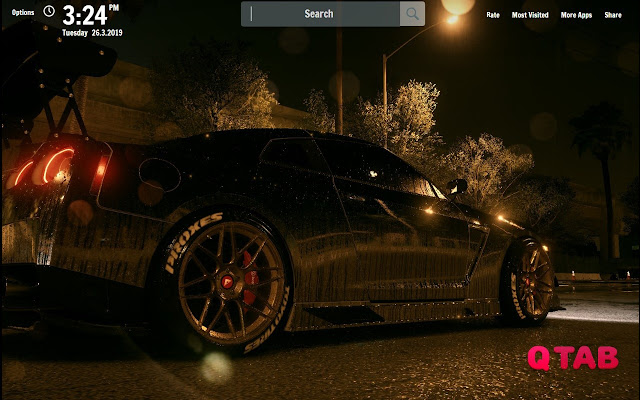 Need for Speed 2015 New Tab Wallpapers
