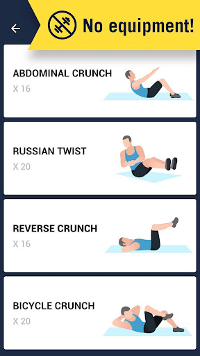 Six Pack in 30 Days - Abs Workout 1.0.2 screenshots 4
