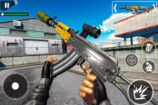 Police Counter Terrorist Shooting - FPS Strike War apkpoly screenshots 8
