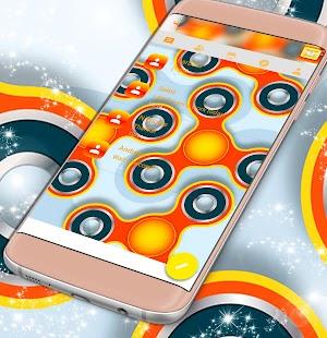 Fidget Spinner SMS Téma - náhled