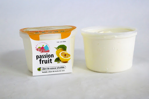 helado vegano passion fruit 500 ml