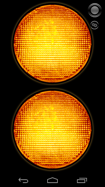 TF: Warning Lights Android App Screenshot