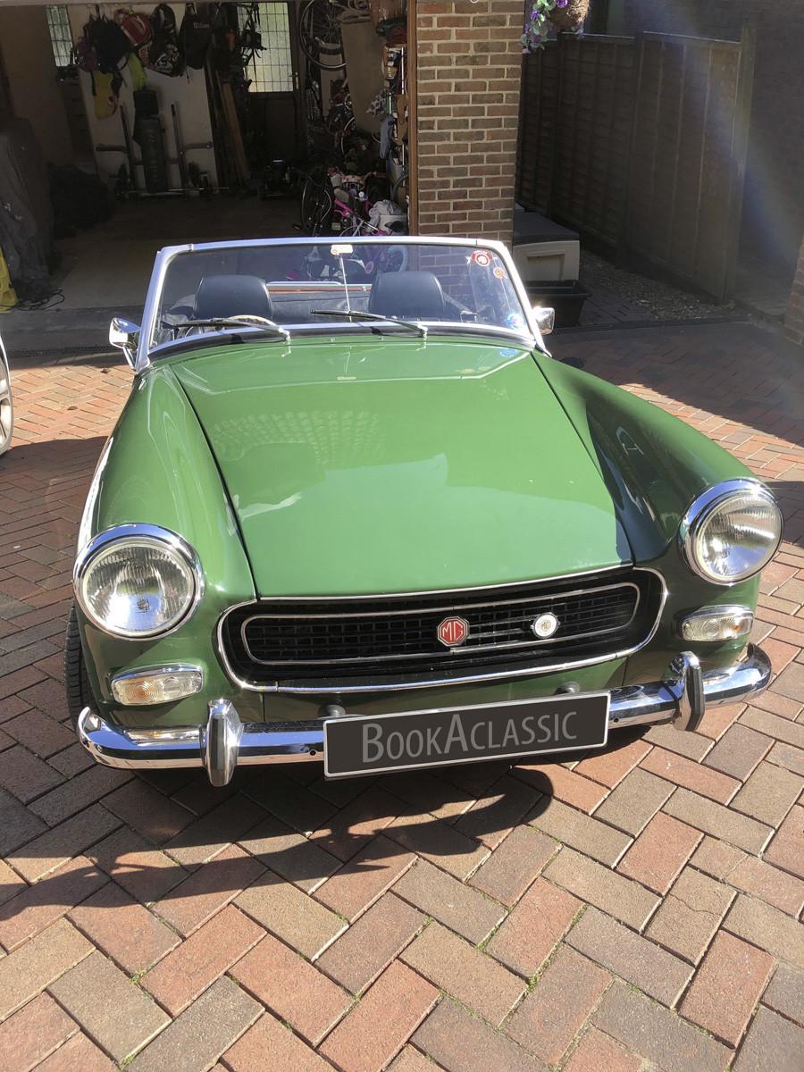 MG Midget Hire Port Talbot