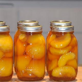 Boozy Peaches