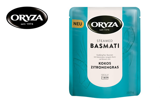Bild für Cashback-Angebot: 3 x Steamed Basmati Kokos Zitronengras - Oryza