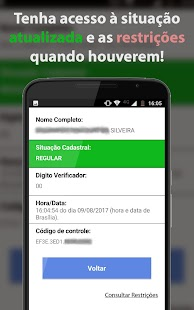 Consultar CPF Completo - náhled