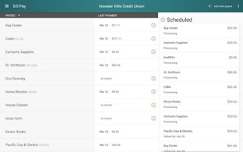 Hoosier Hills CU Mobile screenshot 8