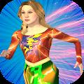 Super Flash Speed Girl-Lady Flash Girl:Flash Game