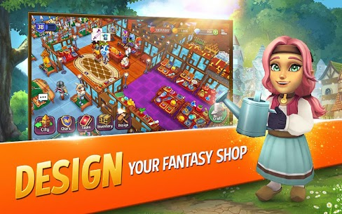 Shop Titans Mod Apk – Epic Idle Crafter, Build & Trade RPG 2