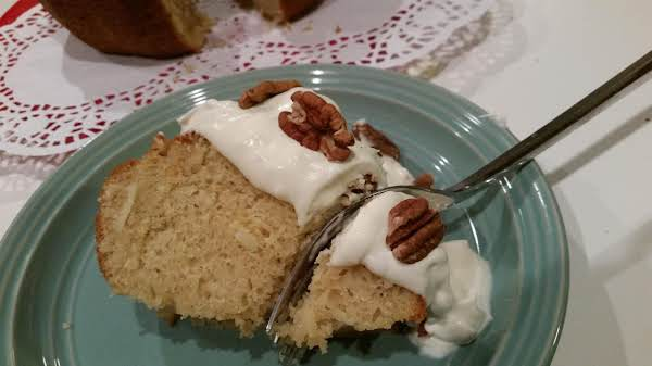 ~ Coconut Pecan Cake ~ Recipe