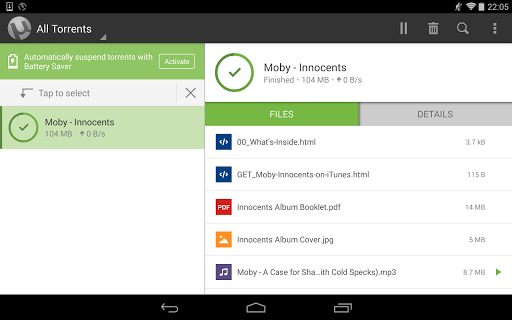 µTorrent® Pro - Torrent App screenshot 10