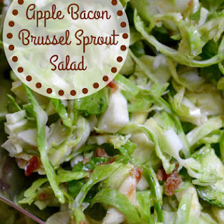 Apple Bacon Brussel Sprout Salad