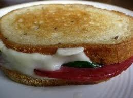 Delicious Salami & Provolone Grill Cheese Sandwich Recipe