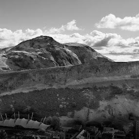 Arthur´s Seat by Morten Gustavsen - Landscapes Mountains & Hills ( pwcbwlandscapes )