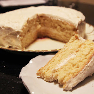 Mom's Plain Cake #SundaySupper