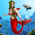 Mermaid Simulator Games: Sea & Beach Adventure APK
