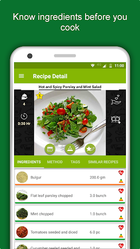 Salad Recipes: Healthy Foods with Nutrition & Tips 2.2.4 screenshots 6
