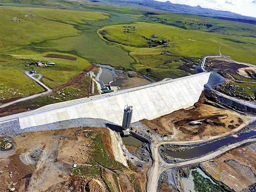 Hydro-power project: Construction of the Bedford Dam-Ingula pump storage scheme started in 2005 and was initially scheduled to start operations in 2012. Picture: SUPPLIED