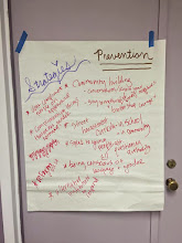 Photo: 4.16.15 BMC - Strategies we came up with for preventing sexualized, gendered & police harassment.
