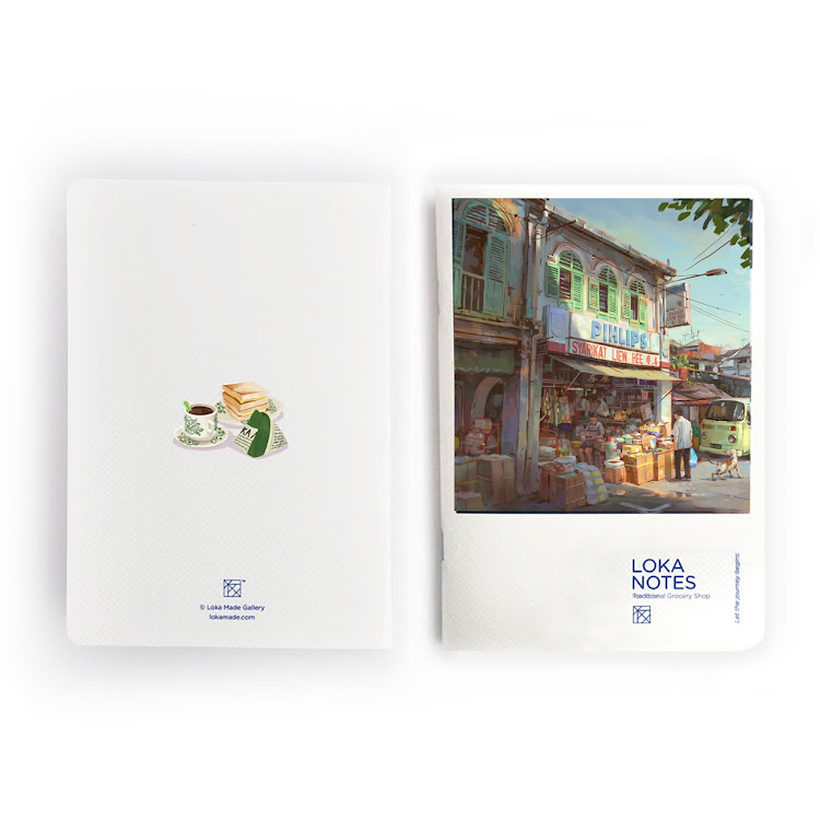 Loka Note : Traditional Grocery Shop by Loka Made