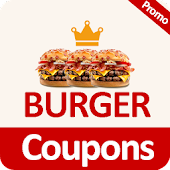 Food Coupons for Burger King 🍔🍹