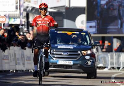 """Nairo Quintana sneller dan verwacht hersteld na aanrijding: """"Ik heb beslist om er al op uit te trekken"""""""