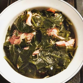 Grate'S Great Collard Greens(Southern Collard Greens with Smoked Turkey Wings Recipe) Recipe