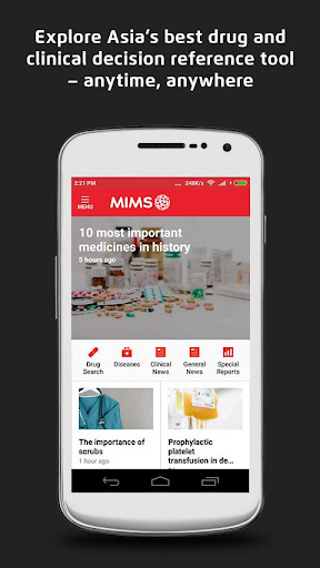 MIMS Malaysia screenshot for Android