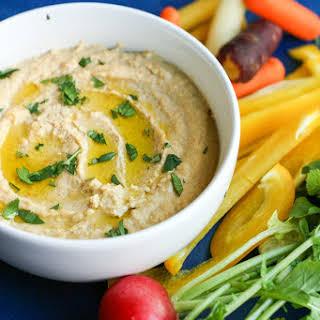 Roasted Garlic Hummus.