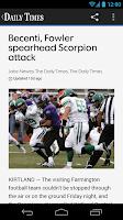 Screenshot of Farmington Daily Times