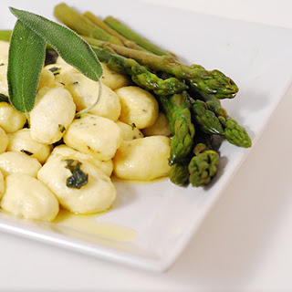 Ricotta Gnocchi with Lemon and Sage Buerre Sauce - Daring Cooks