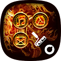 Medieval Fire - Solo Theme icon