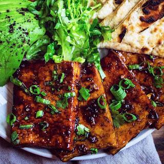 Teriyaki Glazed Tofu Steaks [Vegan].