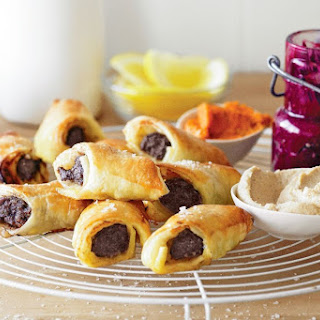 Moroccan Sausage Rolls