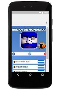 Emisoras de Honduras en Vivo screenshot 0