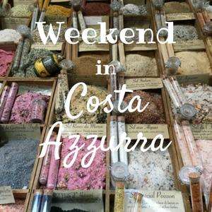 weekend in Costa Azzurra con la famiglia
