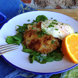 Herbed Potato Pancakes {with Fried Eggs}