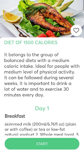 Diets for losing weight screenshots 3