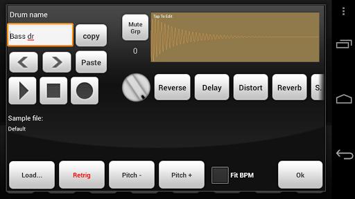 Electrum Drum Machine/Sampler screenshot