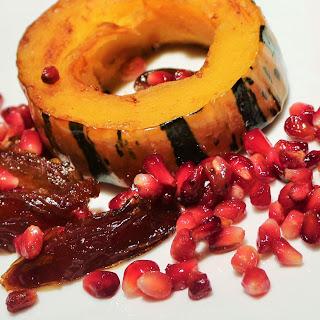 Delicata Squash And Pomegranate